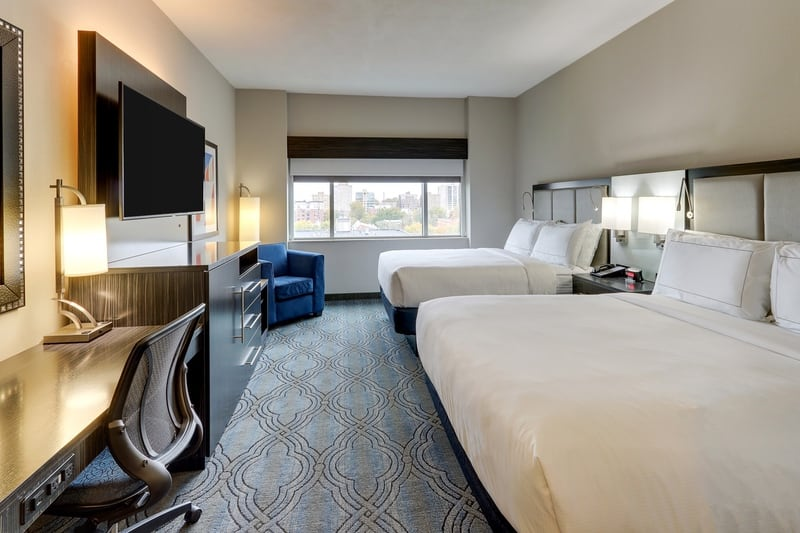 Hilton approved hotel photography for doubletree stl forest park NQRQJ 01