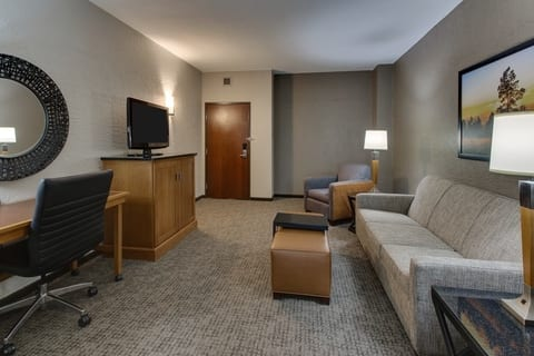 Professional Hotel photography of Drury Hotels guest suite