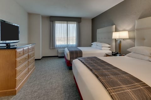 Professional Hotel photography of Drury Hotels guest room