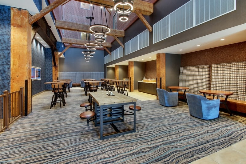 Marriott Springhill Suites approved photography - Breakfast Area Photo