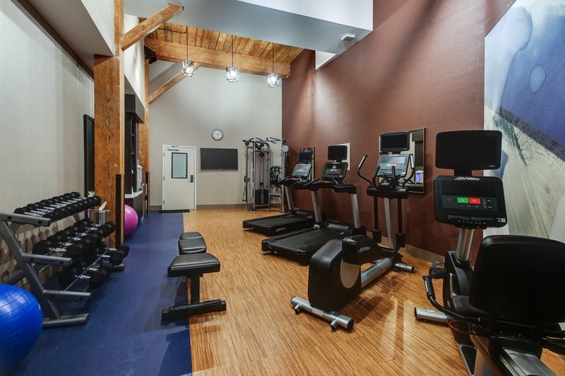 Marriott Springhill Suites approved photography - Fitness Center Photo