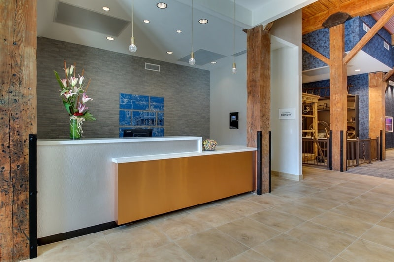 Marriott Springhill Suites approved photography - Front Desk Photo