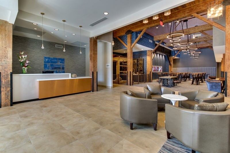 Springhill Suites approved photography - lobby Photo
