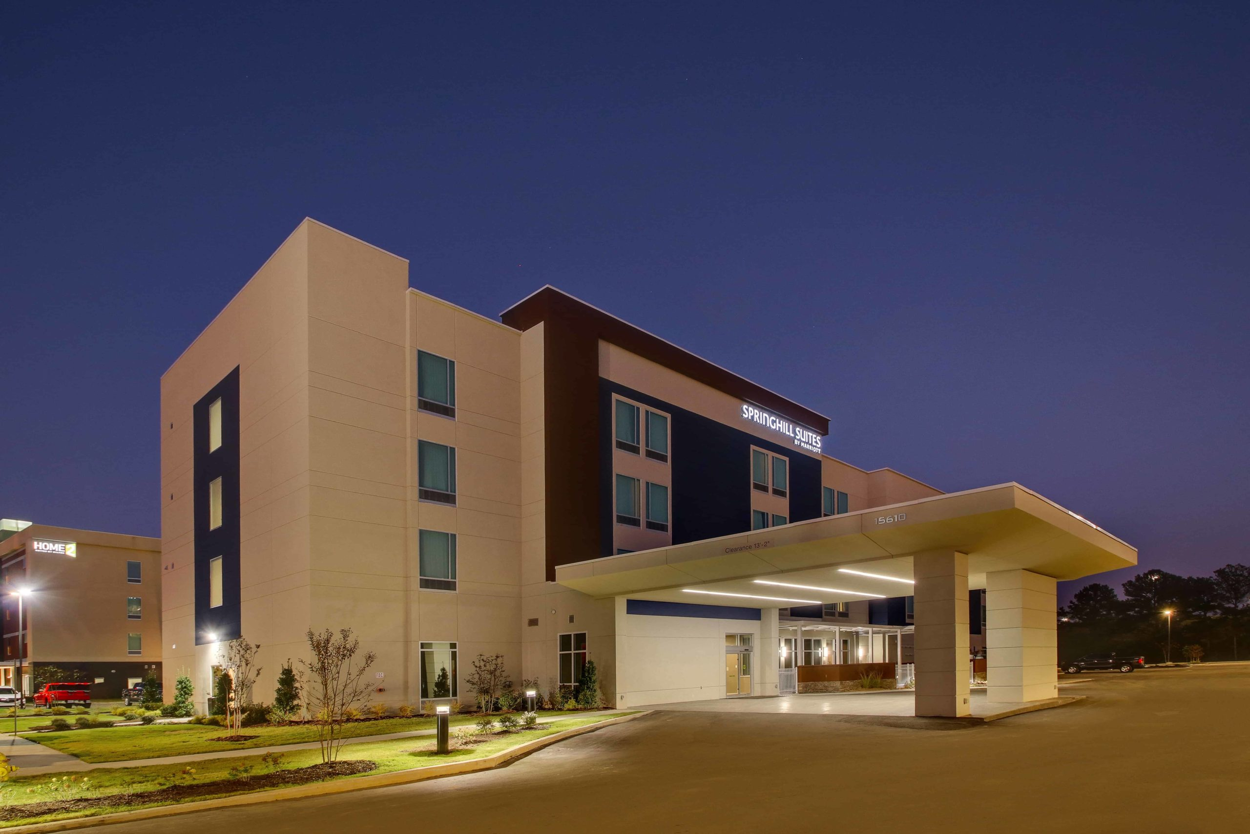 Marriott approved Hotel Photography of springHill Suites Gulfport