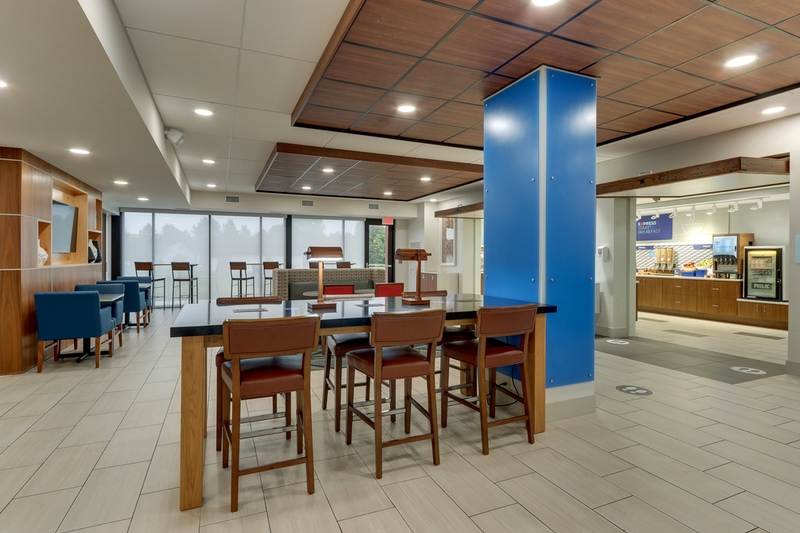 Hotel photography for Holiday Inn Express