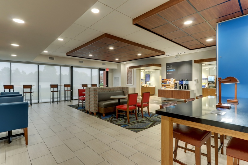 IHG approved hotel photography for Holiday Inn Express
