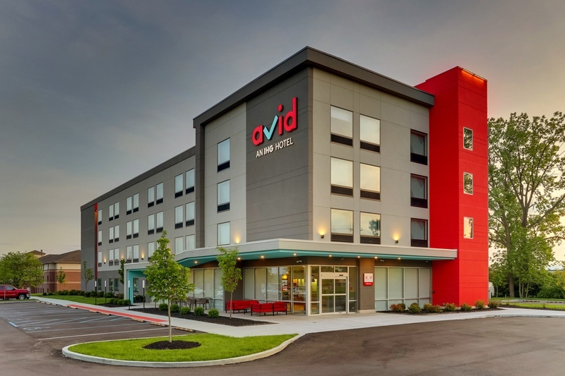 IHG approved photography for AVID hotels