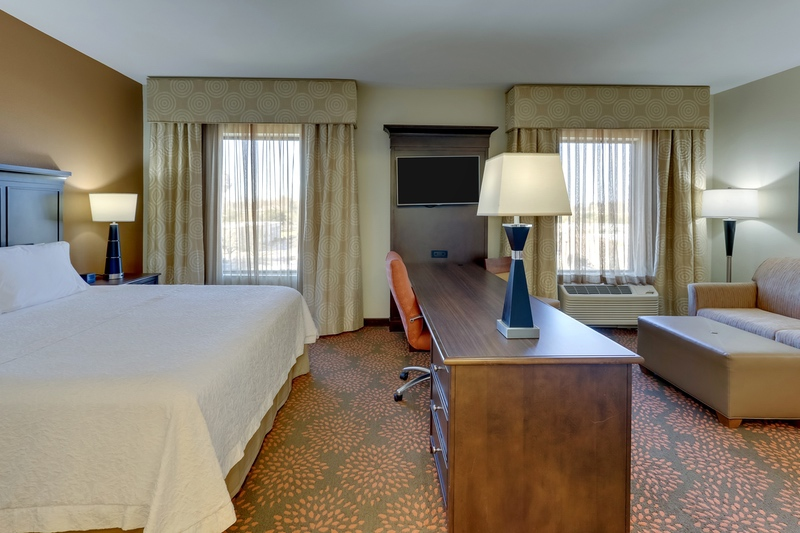 Hilton Approved Hotel Photography for Hampton Inn & Suites Hartsville, SC