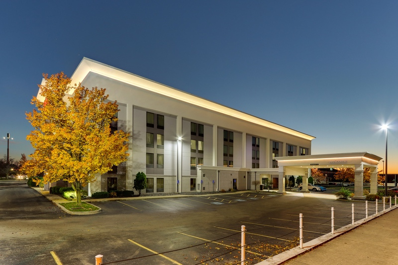 Hilton Approved photography for Hampton Inn Springfield, OH