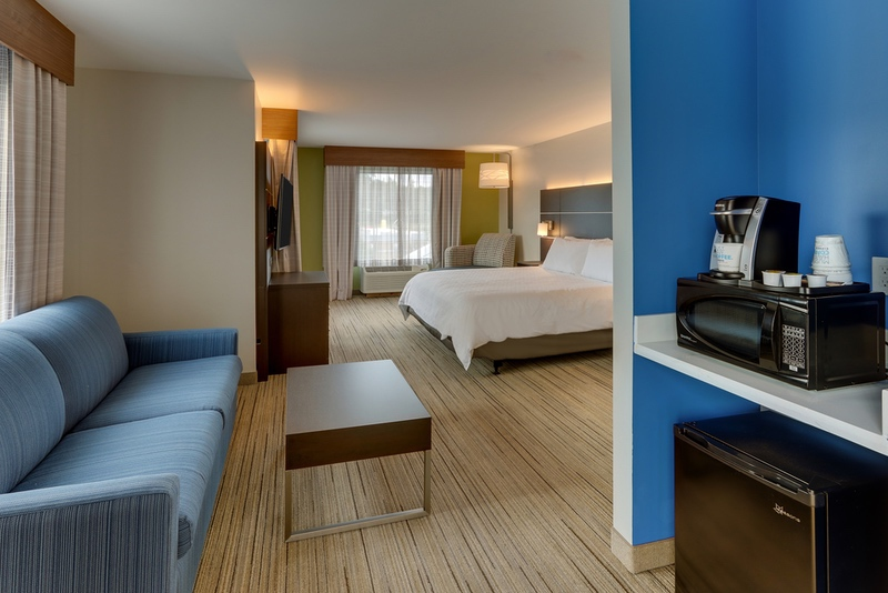 IHG approved hotel photography for Holiday Inn Express Corbin, KY