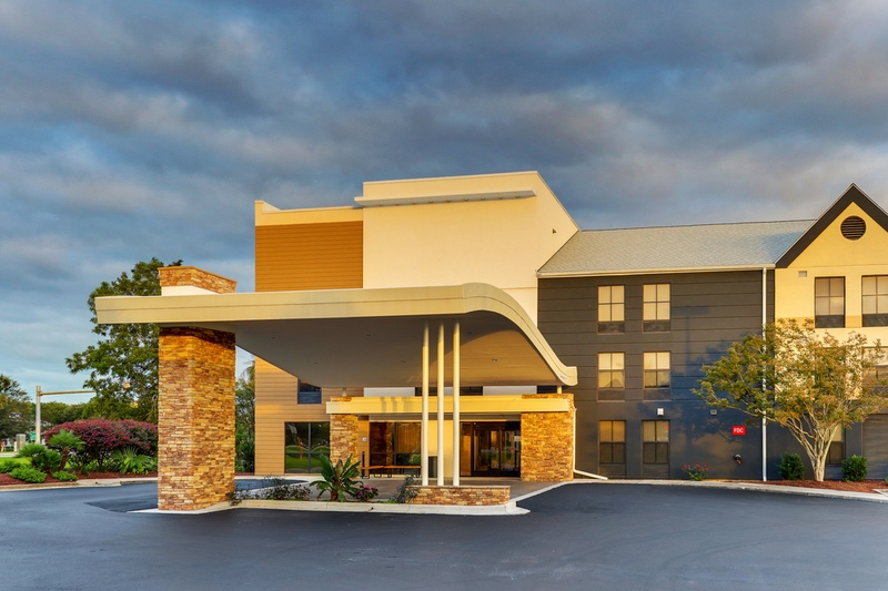 Marriott approved photography for Fairfield Inn and Suites - Southport NC