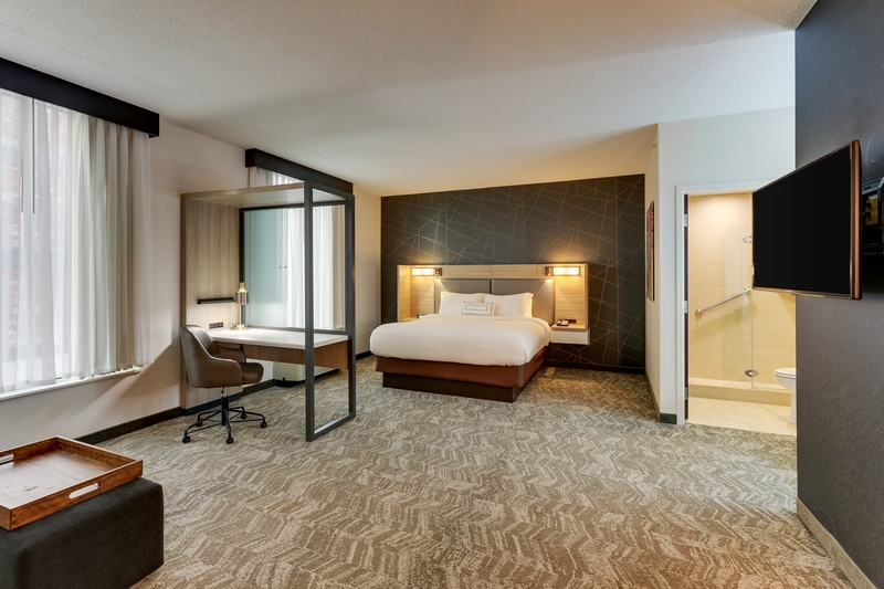 Marriott approved hotel photography for Springhill Suites Birmingham UAB