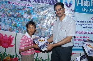 Book Donation Vision Raval1