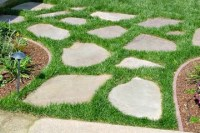 Flagstone Path & Patio  Visions Landscaping and Design Inc.