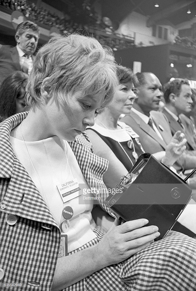 Shirley MacLaine Watching Television