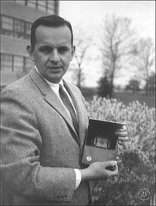 1966 Prototype LCD Display Courtesy RCA and David Snaroff Library