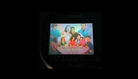 Casio TV 480B Screen Shot photographed August 29, 2013