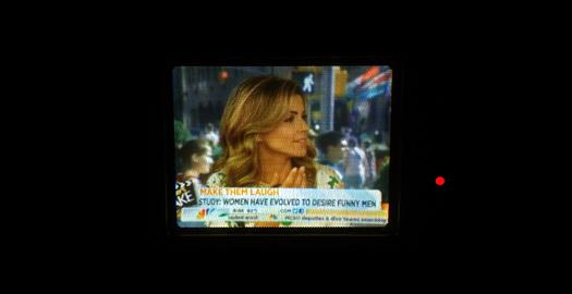 JVC TM-P3 Screen Shot photographed July 29, 2013