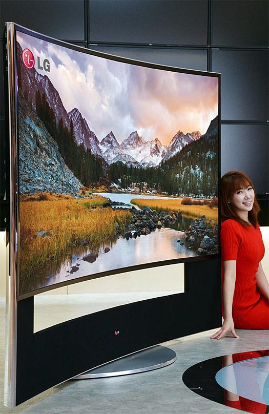 LG 105 inch OLED Ultra HD courtesy LG Corporation