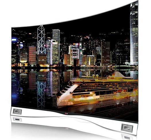 LG 55EA9800 OLED TV courtesy LG