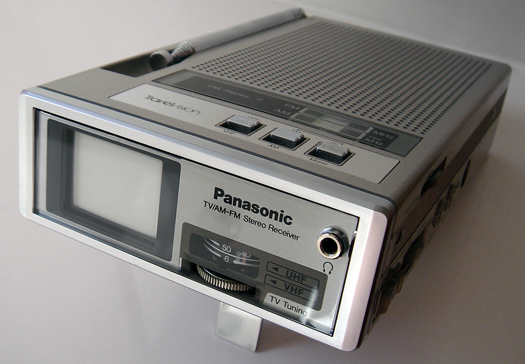 Panasonic Travelvision TR 1020P photographed June 8, 2010
