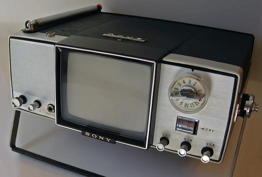 Sony Model 4-203UW photographed June 18, 2011