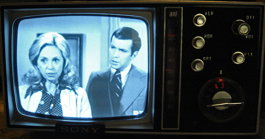 Sony Micro 5 307UW RTV Screen Shot photographed April 11. 2011