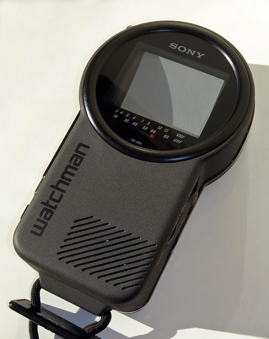 Sony FD 250 Watchman photographed November 5, 2010