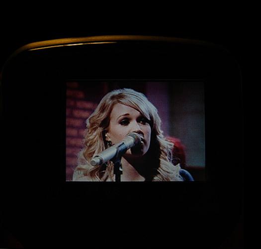 Sony FDL 3105 Screen Shot photographed September 11, 2010