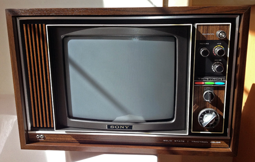 Sony KV 1220U Trinitron photographed March 27, 2012