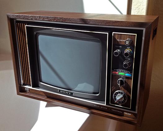 Sony KV 1220U Trinitron photographed March 27, 2012