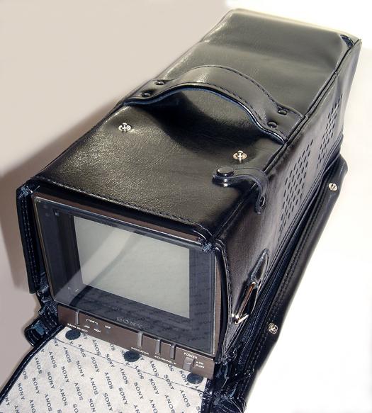 Sony KV 4000 travel case photographed November 16, 2010