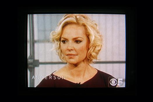 Sony KV 4100 Screen Shot photographed February 1, 2012