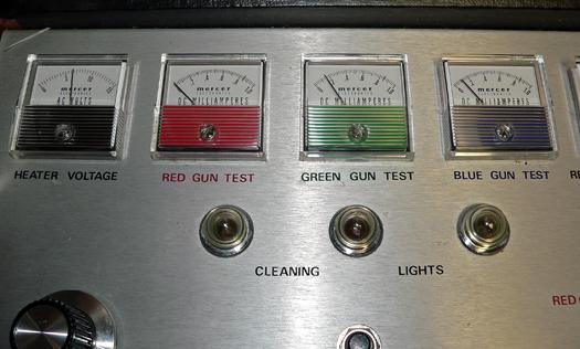 Sony KV 7010U Gun Test