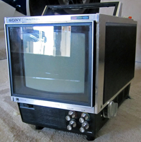Sony KV 7010UA photographed December 25, 2011 by C. Murray