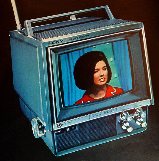 1968 KV-7010U courtesy Sony Corporation