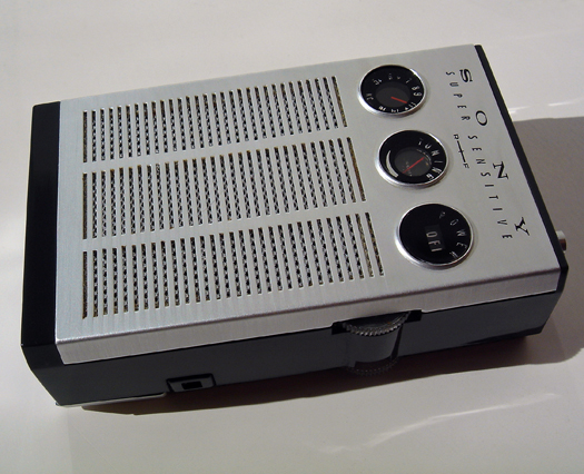 Sony TR 817 photographed October 17, 2011