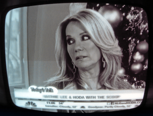 Sony TV-500U Screen Shot photographed December 2, 2011