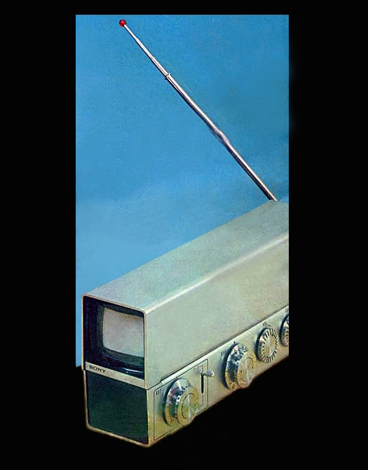 Sony 1967 prototype micro television