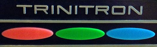 Original logo from 1969 Sony KV 1220U