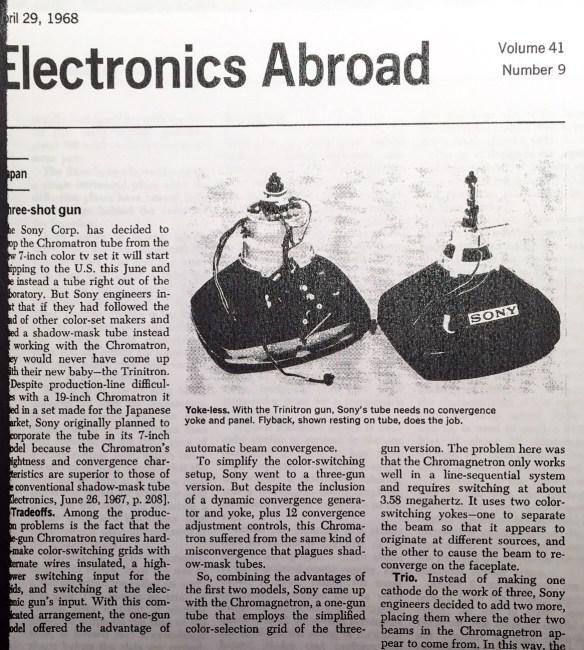 Courtesy Electronics Magazine