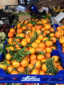Samstagmarkt in Santanyi, Mallorca/Foto: Johanna Wenninger-Muhr