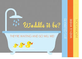 waddle it be (ducks) baby shower
