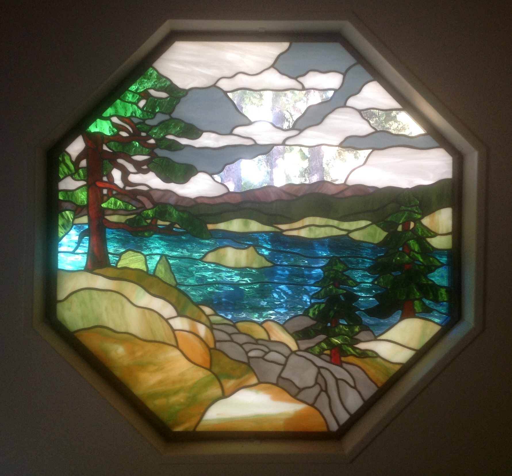 Focal point panels  Visions In Glass