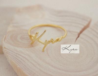 Memorial Signature Ring