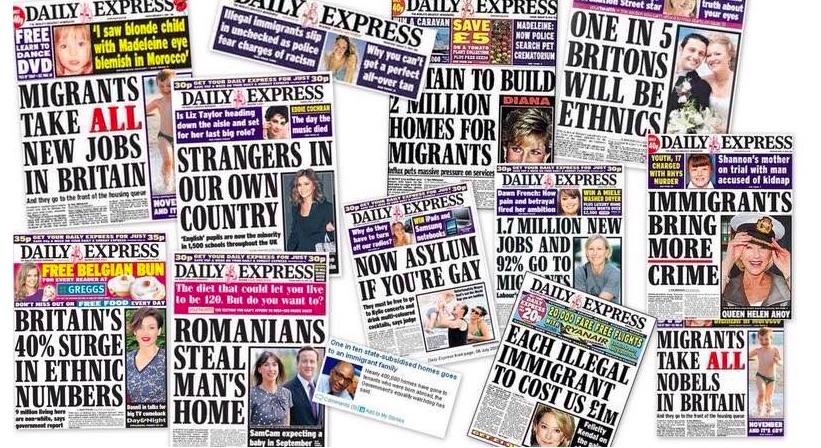 Express headlines