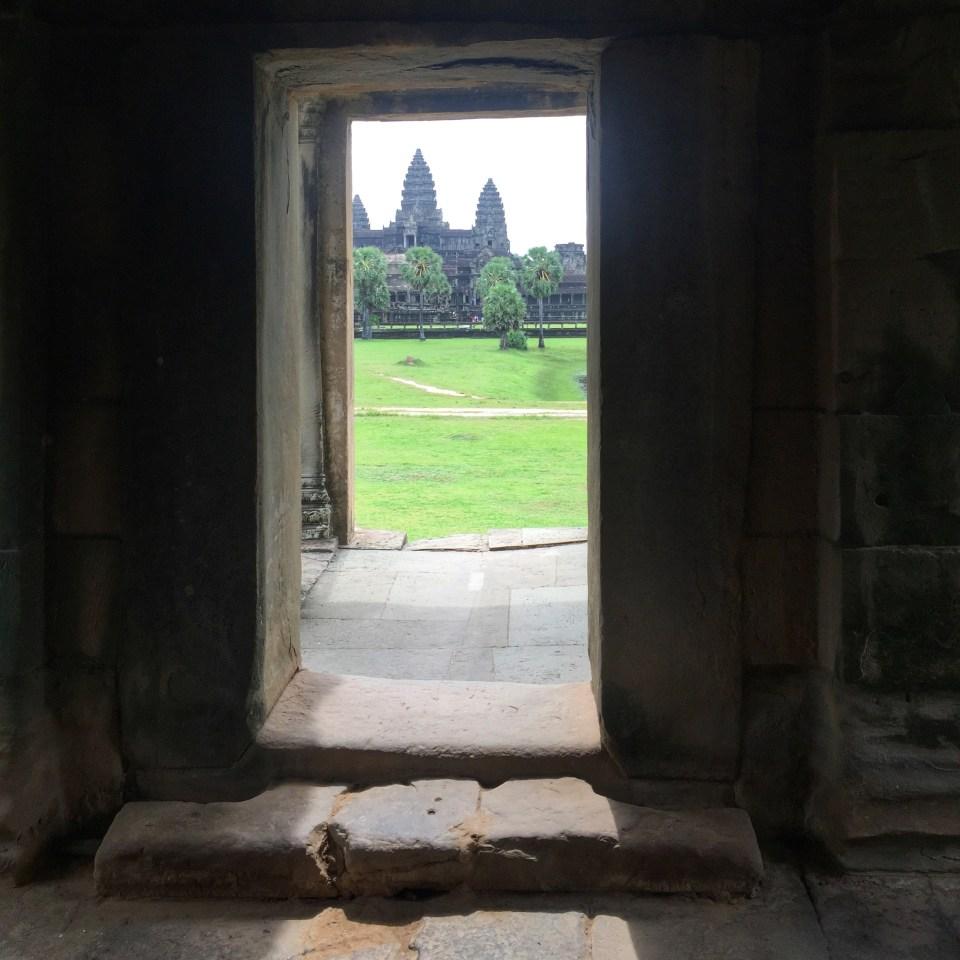 Angkor arch