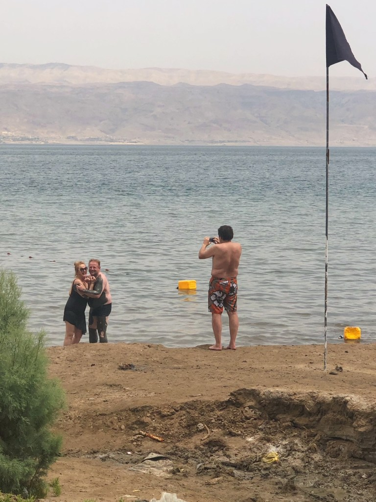 Dead Sea couple