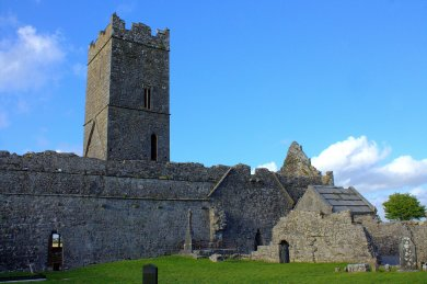 15. Clare Abbey, Clare, Ireland
