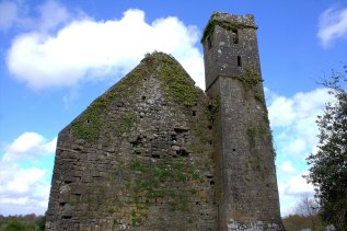 06. St Finghin's Church, Clare, Ireland